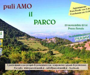 Locandina: PuliAMO Prato Favale