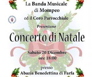 Locandina: Concerto di Natale a Farfa
