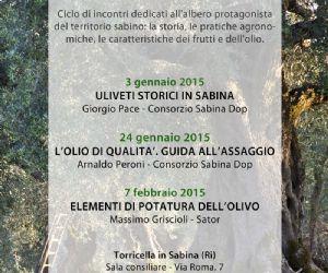Locandina: Coltura e cultura dell'olivo