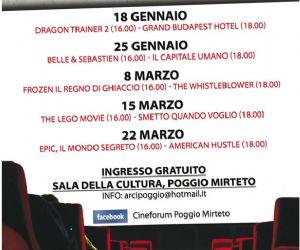 Locandina: Cineforum a Poggio Mirteto