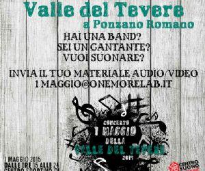 Locandina: Concerto del 1 Maggio della Valle del Tevere 2015