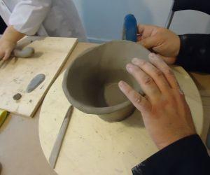 Locandina: Corso di ceramica a cura di Fabio Grassi