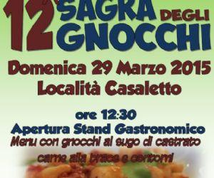 Locandina: Sagra degli Gnocchi