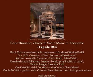 Locandina: Il ciborio di Fiano Romano