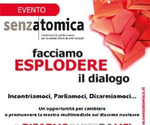 """Locandina: Presentazione della mostra """"Senzatomica"""""""