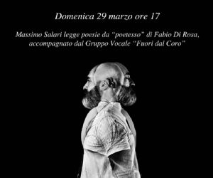 """Locandina: Presentazione volume di poesie """"Poetesso"""""""