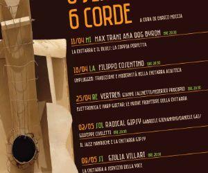 Locandina: 6 SERATE PER 6 CORDE
