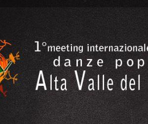 Locandina: Primo Meeting Internazionale Danze Popolari Alta Valle del Velino