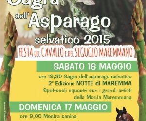 Locandina: 10 sagra dell'asparago selvatico