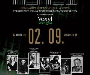 Locandina: Vocinsieme 2015  - Farfa Voice Festival
