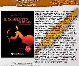 """Locandina: Presentazione de """"Il complotto di Roma - Settimo incarico"""""""
