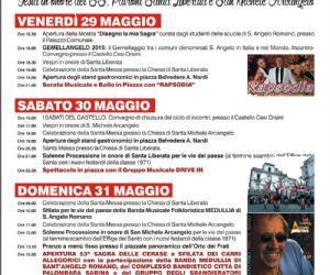 Locandina: 53 Sagra delle Cerase a Sant'Angelo Romano