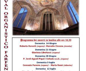 Locandina: Festival Organistico 2015