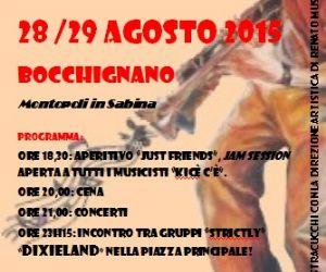 Locandina: SABINA JAZZ FESTIVAL- VIII edizione