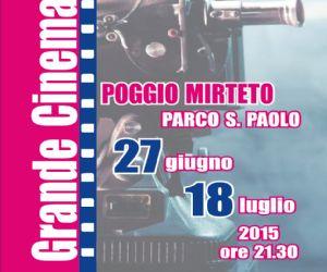 Locandina: Grande Cinema Italiano a Poggio Mirteto