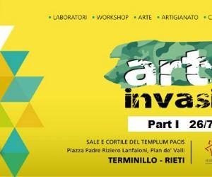Locandina: Al via ARTinvasion al Terminillo