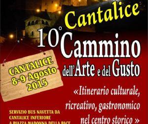Locandina: 10° CAMMINO DELL'ARTE E DEL GUSTO