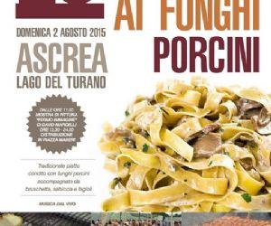 Locandina: Sagra delle Fettuccine ai Funghi Porcini