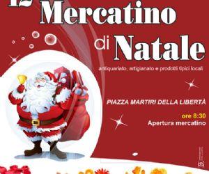 Locandina: Mercatino di Natale a Poggio Mirteto