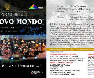 Locandina: Stagione musicale al Teatro Flavio Vespasiano
