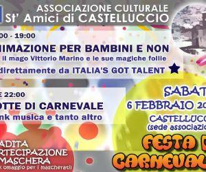 Locandina: FESTA DI CARNEVALE  St'Amici di Castelluccio