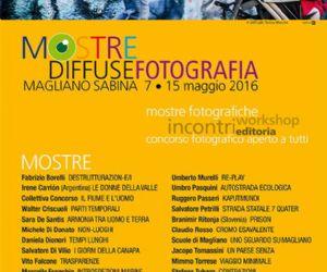 Locandina: Mostre Diffuse [fotografia] Magliano Sabina 2016