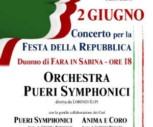 Locandina: Concerto per la Festa della Repubblica