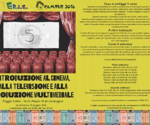 Locandina: Introduzione al cinema, alla televisione e alla produzione multimediale