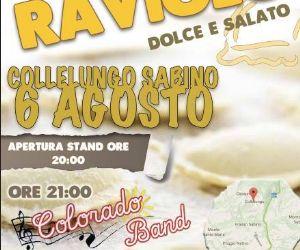 Locandina: 12° sagra DEL RAVIOLO DOLCE E SALATO