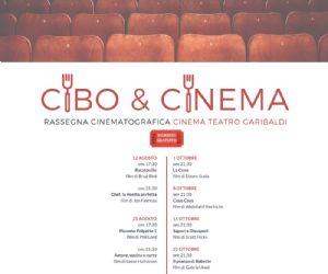 Locandina: CIBO E CINEMA