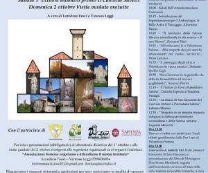 Locandina: Palombara Sabina e il suo territorio tra Storia e Archeologia