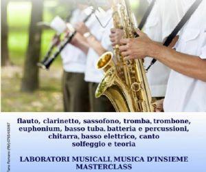 Locandina: APERTE LE ISCRIZIONI alla SCUOLA DI MUSICA COMUNALE DI FIANO ROMANO