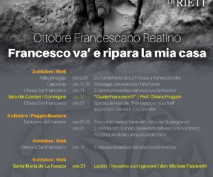 Locandina: Ottobre Francescano Reatino