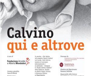 Locandina: Calvino qui e altrove