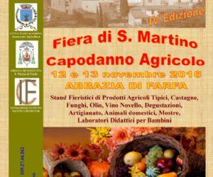Locandina: FIERA DI SAN MARTINO - CAPODANNO AGRICOLO - IV EDIZIONE