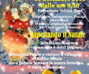 Locandina: Mercatino di Natale 2016 a Palombara Sabina