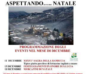 Locandina: Aspettando Natale a Percile