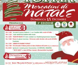 Locandina: Mercatini di Natale 2016 TOFFIA
