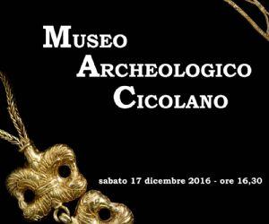 Locandina: Inaugurazione Museo Archeologico Cicolano