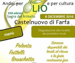 Locandina: SABINA IN FESTA L'8 DICEMBRE