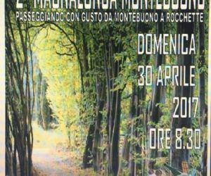 Locandina: 2° Magnalonga Montebuono (RI)