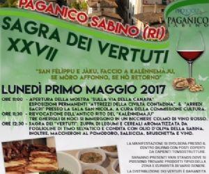 """Locandina: """"Calendimaggio"""" e Sagra dei Vertuti"""