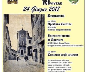 Locandina: TORna a RIvivere 2017