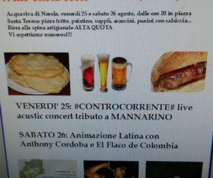 """Locandina: Fritto casareccio e birra """"Alta Quota"""""""