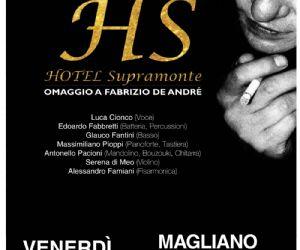 Locandina: Omaggio a Fabrizio De Andrè