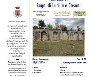 Locandina: Trekking culturale ai Bagni di Lucilla e Villa romana i Casoni