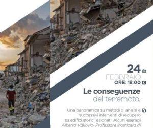 Locandina: Le conseguenze del terremoto