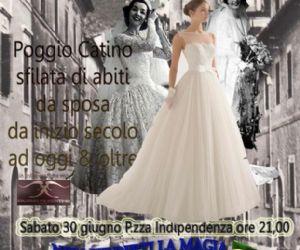 Locandina: Spose in passerella di ieri, oggi e domani