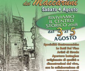 Locandina: XVIII Sagra dei Maccaruni