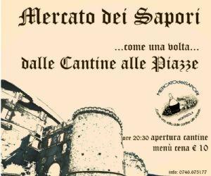 Locandina: Mercato dei Sapori, XIII edizione
